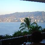 Acapulco Bay's view from bedroom