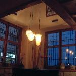 Lighting inside bar area