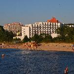 hotel from the pier