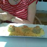 alcachofas con marisco
