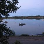 autre vue sur la baie en face du chalet