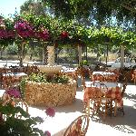 Dine outside at Uncle George's Taverna