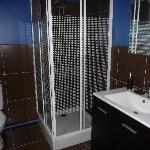 salle de bain chambre loft