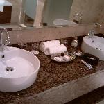his and hers sink  all very spacious
