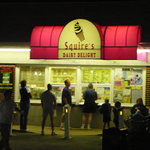 Exterior of Squire's Dairy Delight