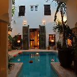 Le patio de Tawanza