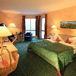 Hotelzimmer in der Jugendstilvilla