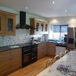 Entertain your friends and family in the Laurel's extensive kitchen