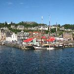 Oban from the Calmac ferry