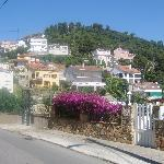spanish villa's above santa susana