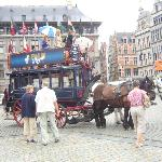 carriage ride in antwerp Town Square