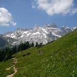 Walking in the Montafon Valley