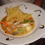 Seafood dish from Euro