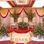 our wedding stage at kikwete hall