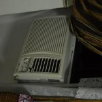 Only way to ventilate, no opening windows