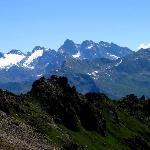 view from Weissfluh