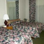 Ground floor hotel room
