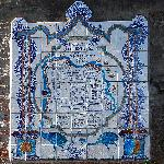 Tile map of Colonia right outside the museum.
