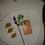 foie gras with rhubarb