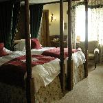 my bedroom at Ragdale - the tower room!