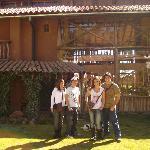 Mi familia en La Casa de Barro