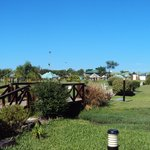 4.-Parque Termal de Federación : Puentecito sobre acequia