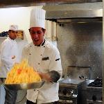 Show cooking Pâtes