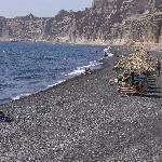 stranden santorini