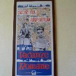 Movie Poster - Vacanze Romane