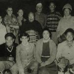 The Tenzing and Gandhi families at the Elgin Darjeeling