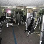 Fitness center (weight room)