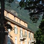 Aperçu d'une façade de l'hôtel (côté jardin)