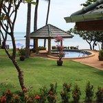beach front villa