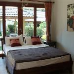 bed room deluxe villa