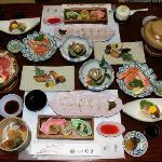 Our Keiseki meal