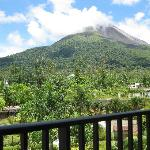 View of Arenal from balcony