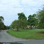 Pilsley village green