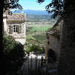 View from nearby village of Gordes