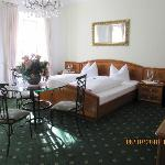 Our room in Garni zur Post