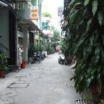 Laneway to Hotel