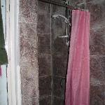 Seven-foot shower mixer