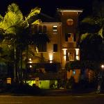 Night time view of Martinique
