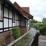 Der Bach an der Wilhelm-Busch-Mühle