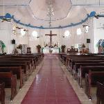 Blick in de Katholische Kathedrale in Apia