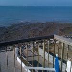vue de jour de la terrasse de la chambre