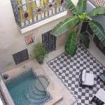 Courtyard of Riad Alamir