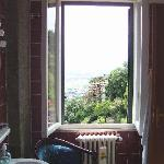 view from bathroom Toscabali room at Casa Kita