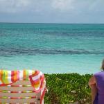 Private beach!