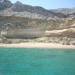 Gorgeous beach on way back from Lindos