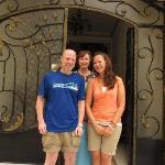 My Daughter and I with Mara at Mara House